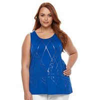 Plus Size Apt. 9® Strappy Back Tank Top