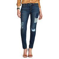 Petite Chaps Classic Fit Slim-Leg Jeans