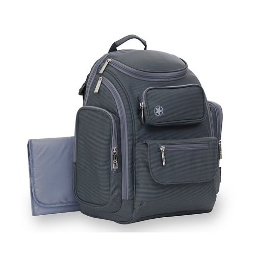 J is for Jeep Perfect Pockets Backpack Diaper Bag