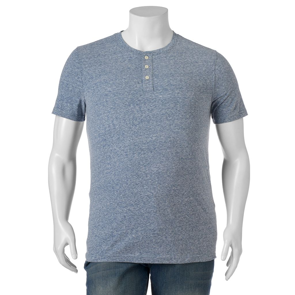 Big & Tall SONOMA Goods for Life™ Modern-Fit Everyday Henley