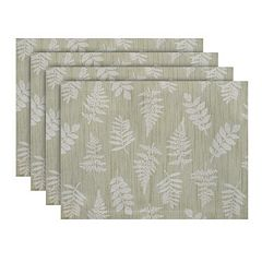 Food Network™ Sage Fern Placemat 4 pk