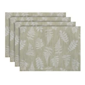 Food Network? Sage Fern Placemat 4-pk.