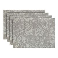 Food Network™ Blue Floral Placemat 4-pk.