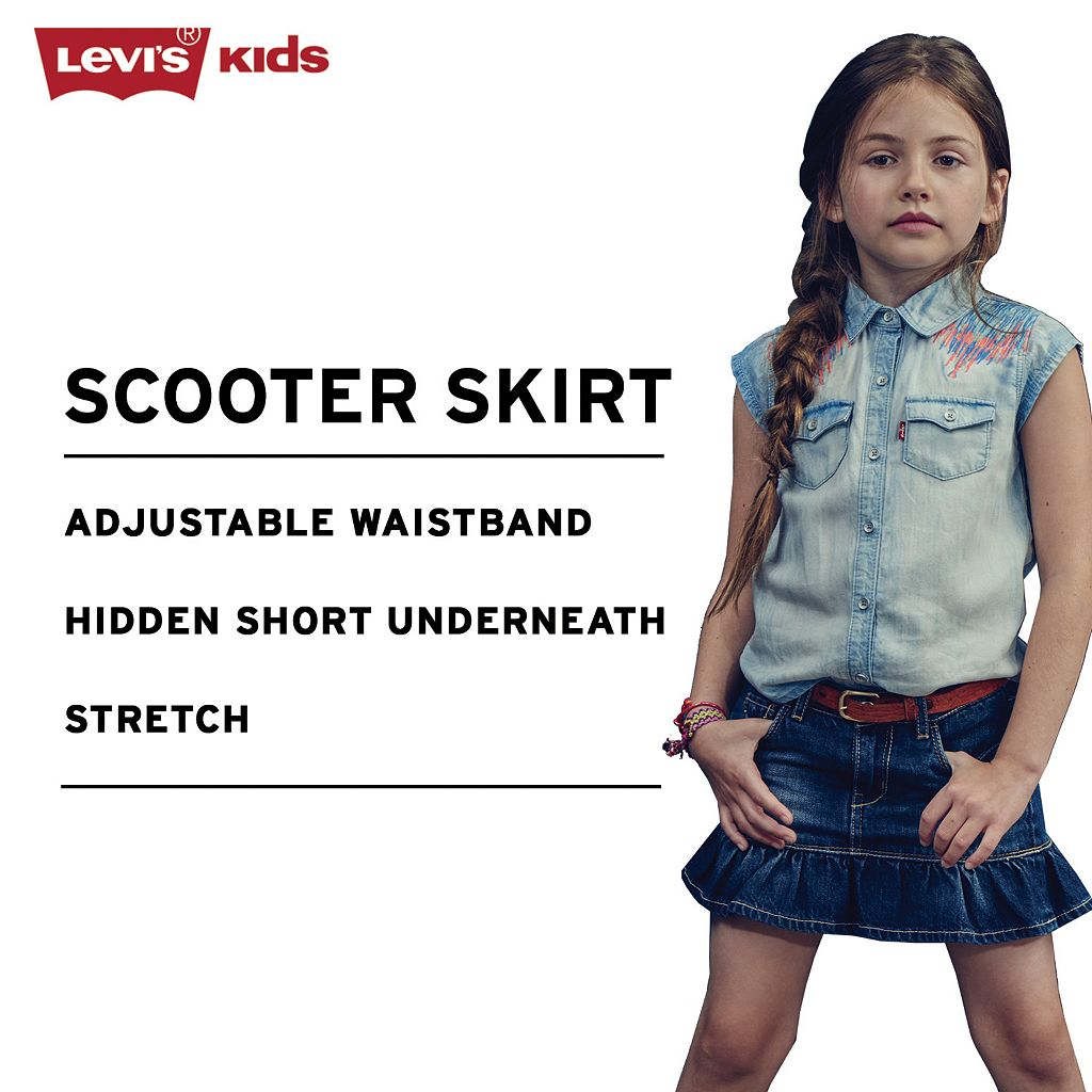 Girls 4-6x Levi's Alessandra Skort