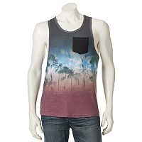 Men's Distortion Tropical Tank Top