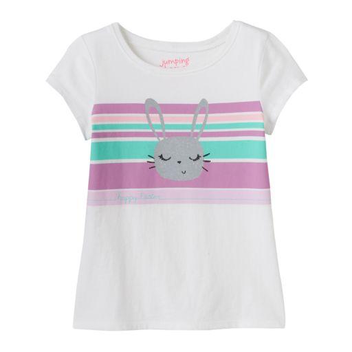 Girls 4-10 Jumping Beans® Easter Glitter Graphic Tee