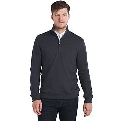 Men's Van Heusen Flex Classic-Fit Stretch Fleece Quarter-Zip Pullover