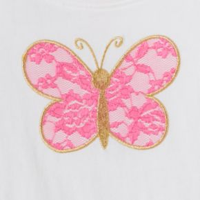 Girls 4-10 Jumping Beans® Applique Graphic Tee