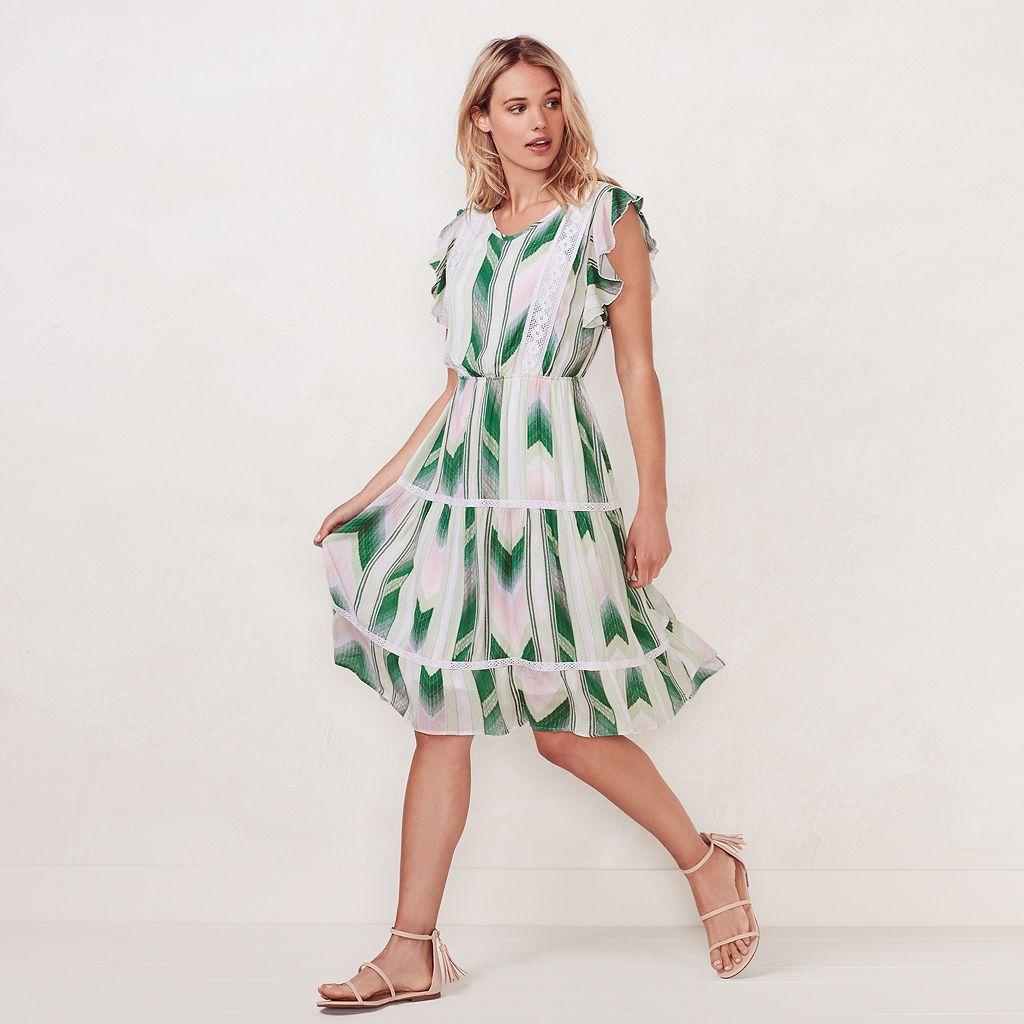 Women's LC Lauren Conrad Lace Midi Dress