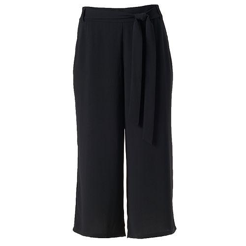 Women's Studio 253 Crepe Culotte Pants