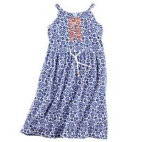 Toddler Girl Carter's Printed Maxi Dress