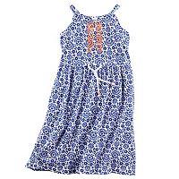Toddler Girl Carter's Printed Maxi Dress