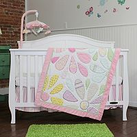 Nurture Crazy Daisy 3-pc. Nursery Bedding Set