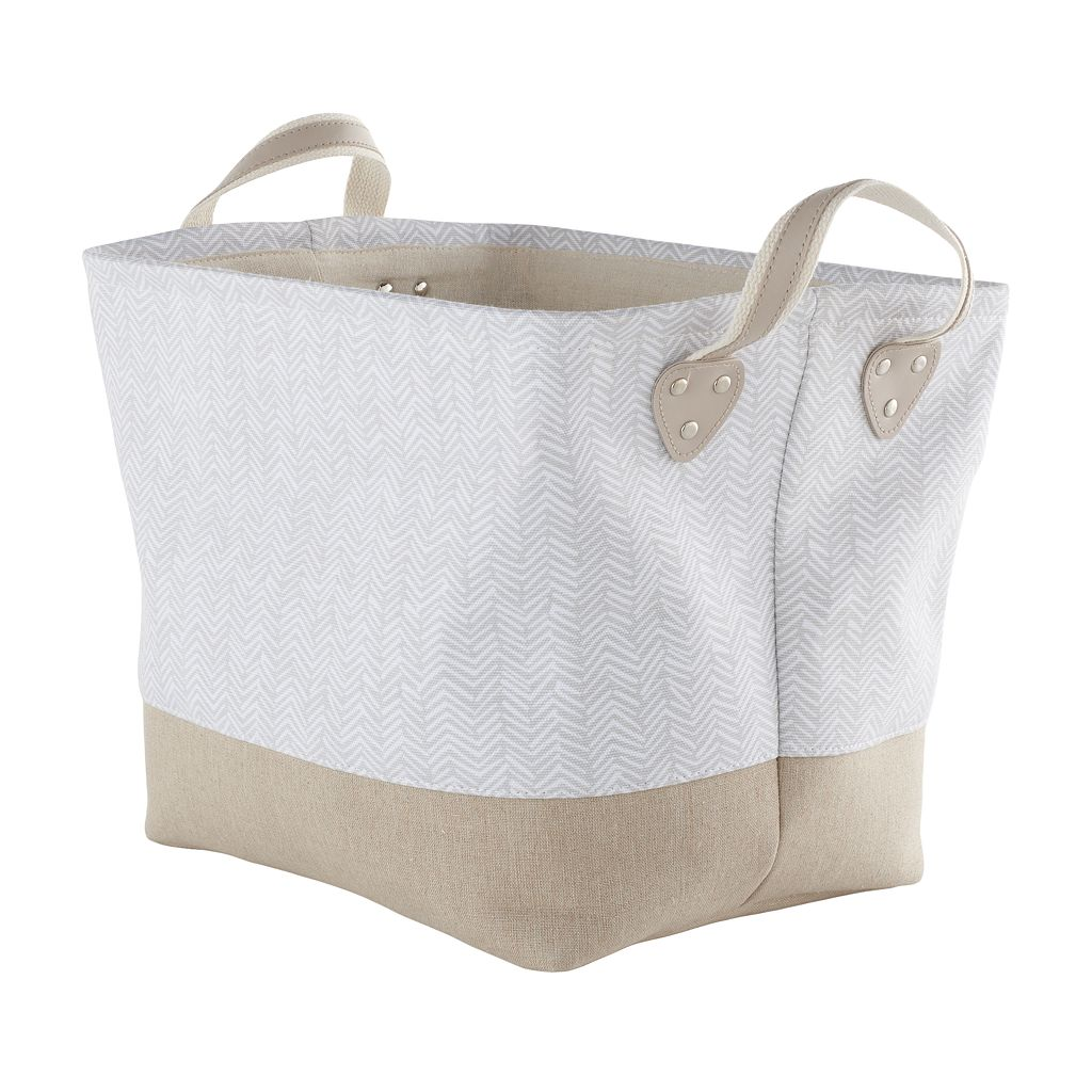 Simple Concepts Textured Bonded Tote