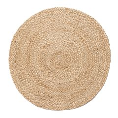 Food Network™ Round Jute Placemat Set 4-pack