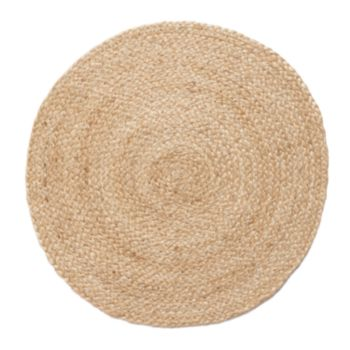 Food Network? 4-pc. Round Jute Placemat Set