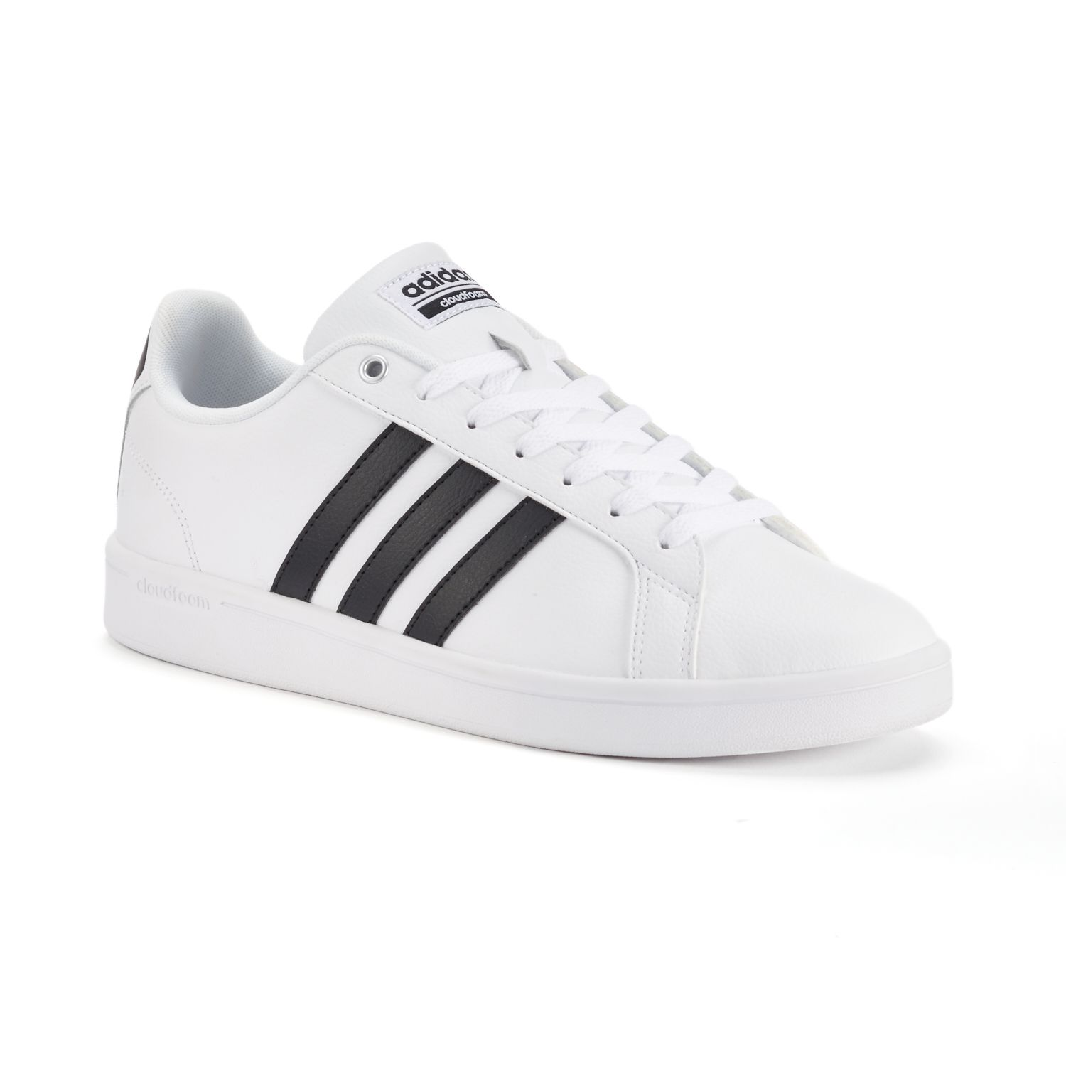 adidas NEO Cloudfoam Advantage Stripe Men\u0027s Shoes