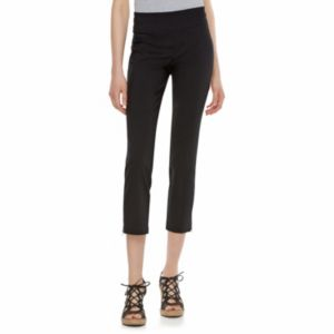 Juniors' Joe B Stacked Zipper Ankle Pants