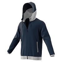 Big & Tall adidas Everyday Attack Colorblock Full-Zip Hoodie