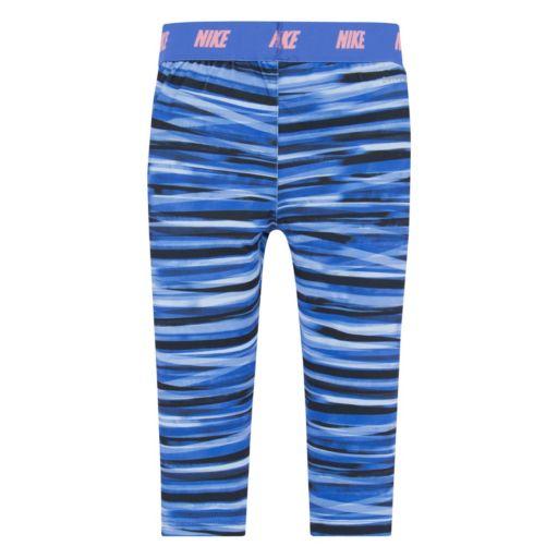 Girls 4-6x Nike Dri-Fit Striped Skinny-Fit Leggings