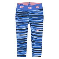 Girls 4-6x Nike Dri-Fit Striped Skinny-Fit Leggings