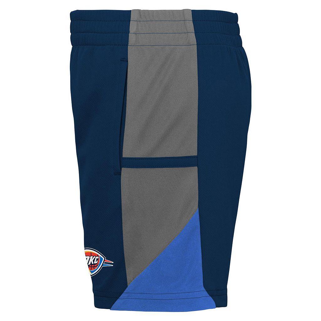 Toddler adidas Oklahoma City Thunder Possession Tee & Shorts Set