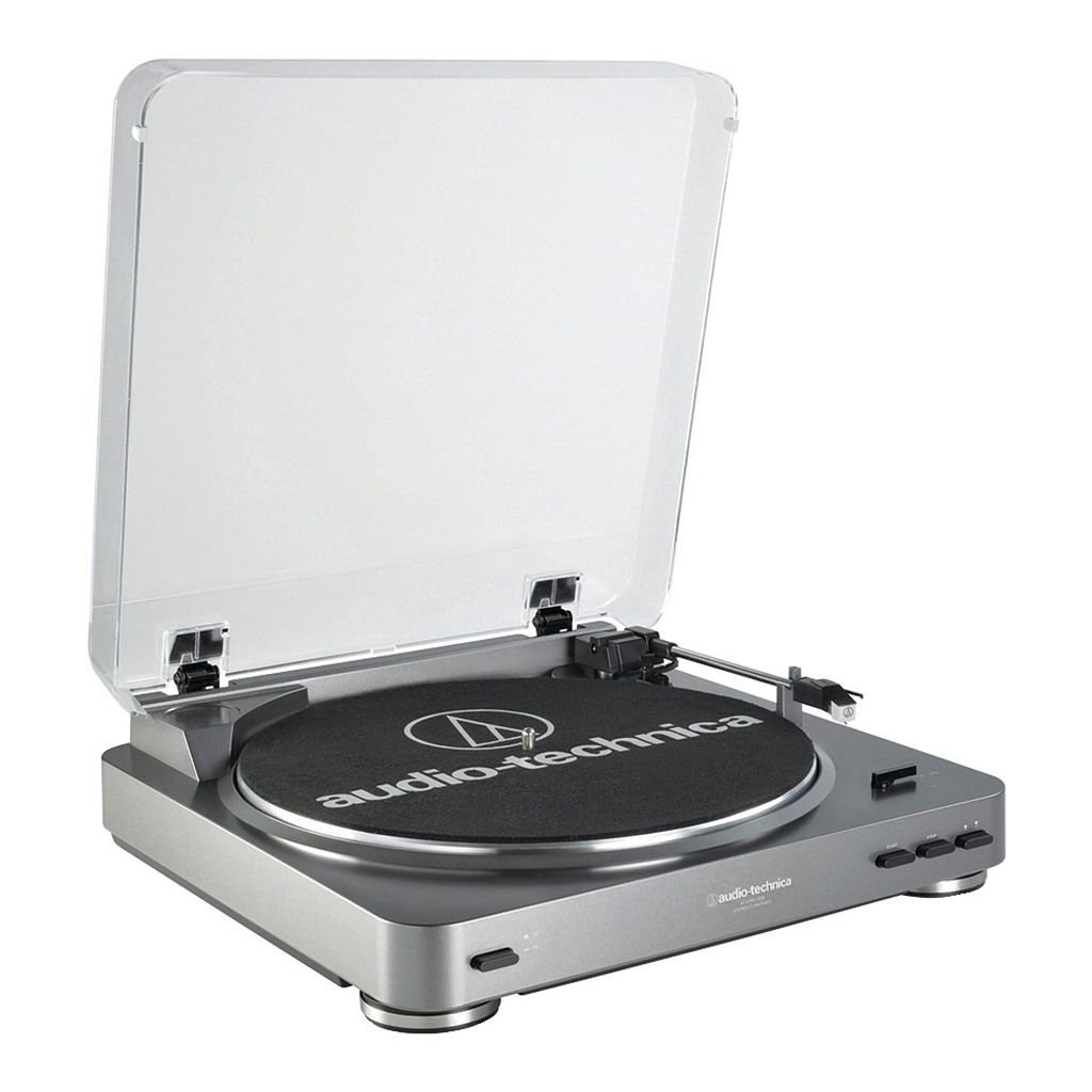 Audio-Technica Fully Automatic Belt-Drive USB Turntable (AT-LP60USB)