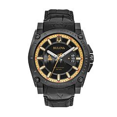 Bulova Men's GRAMMY® Awards Special Edition Precisionist Leather Watch - 98B293