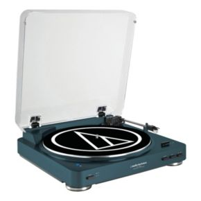 Audio-Technica Fully Automatic Wireless Belt-Drive Stereo Turntable (AT-LP60NV-BT)