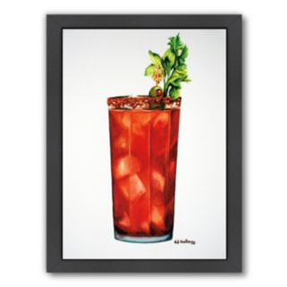 Americanflat Bloody Mary Framed Wall Art