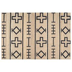 nuLOOM Sukkot Barry Geometric Jute Blend Rug