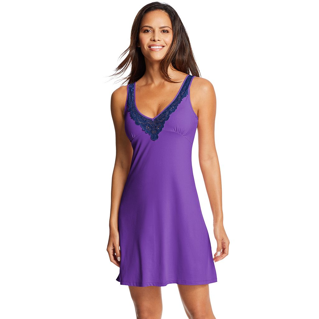 Women's Maidenform Pajamas: Lace Trim Chemise