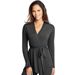 Women's Maidenform Pajamas: French Terry Wrap Cardigan
