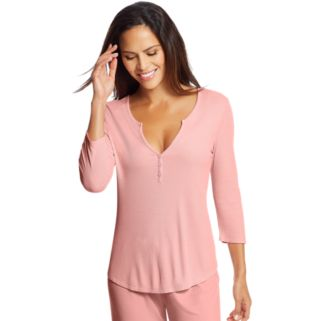 Women's Maidenform Pajamas: Henley Sleep Shirt