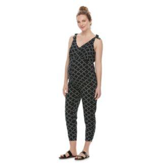 Maternity a:glow Print Jumpsuit