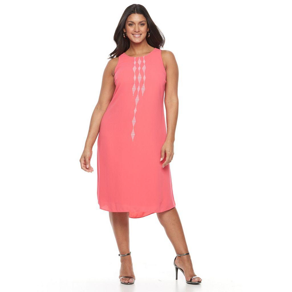 Plus Size Apt. 9® Highneck Sleeveless Dress