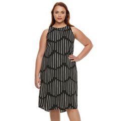 Plus Size Apt. 9® Highneck Sleeveless Dress