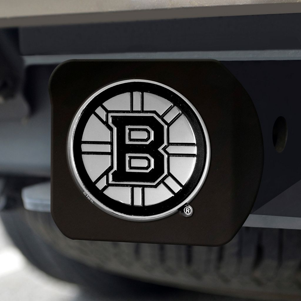 FANMATS Boston Bruins Black Trailer Hitch Cover