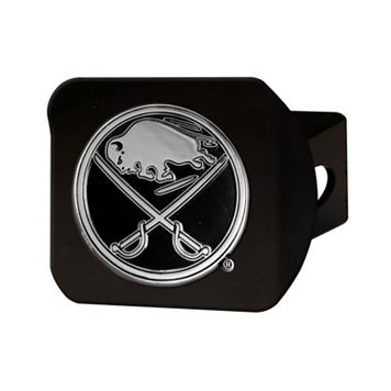 FANMATS Buffalo Sabres Black Trailer Hitch Cover