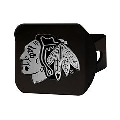 FANMATS Chicago Blackhawks Black Trailer Hitch Cover