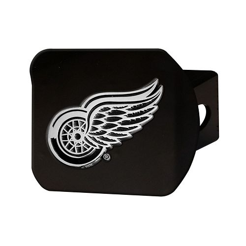 FANMATS Detroit Red Wings Black Trailer Hitch Cover