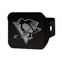 FANMATS Pittsburgh Penguins Black Trailer Hitch Cover