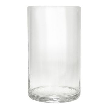 Small Glass Hurricane Candle Holder