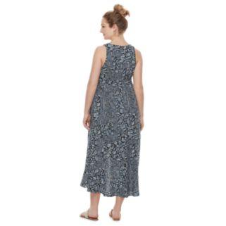 Maternity a:glow Floral Faux-Wrap Dress