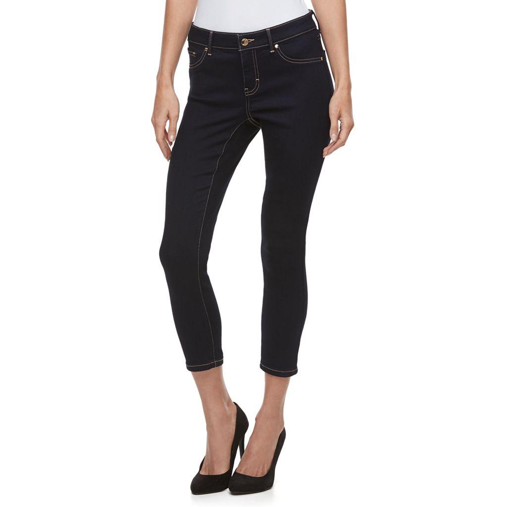 Petite Jennifer Lopez Crop Super Skinny Jeans