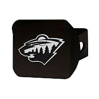 FANMATS Minnesota Wild Black Trailer Hitch Cover