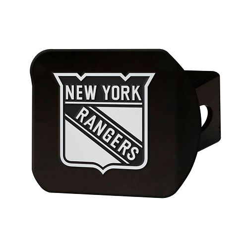FANMATS New York Rangers Black Trailer Hitch Cover