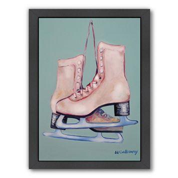 Americanflat My Old Skates Framed Wall Art