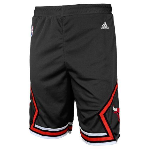 Toddler adidas Chicago Bulls Alternate Shorts
