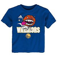 Baby adidas Golden State Warriors Angry Ball Tee
